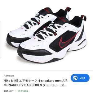 Nike Air Monarch IV 4 Dad Shoes Cross Training